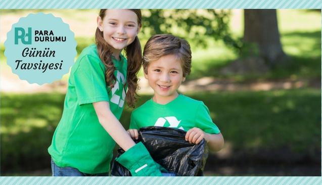 Çocuklara gönüllü olmayı öğretin!