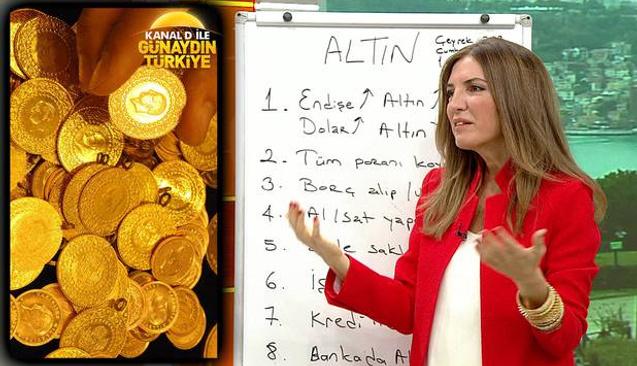 Özlem Denizmen Canlı Yayında Anlattı Altın Fiyatları Neden Fırladı?