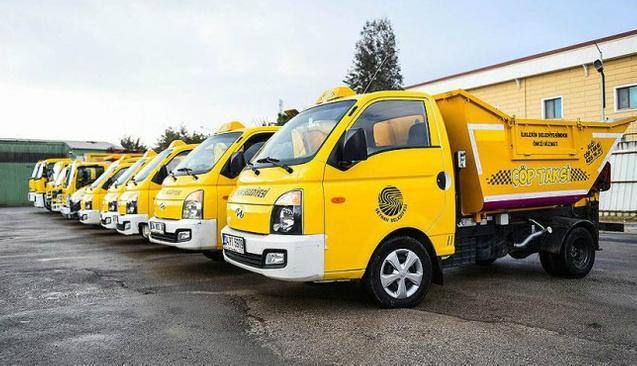 Adana'da çöp taksi hizmeti başladı