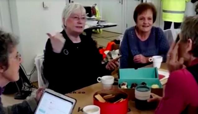 Yaşlı kadınların konut projesi