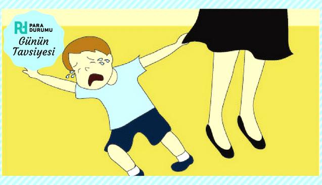 Çocuğunuz mağazada ağlıyorsa ne yapmalısınız?