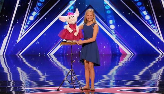 Sahneye çıktığında kimse 12 yaşındaki kızdan bu performansı beklemiyordu