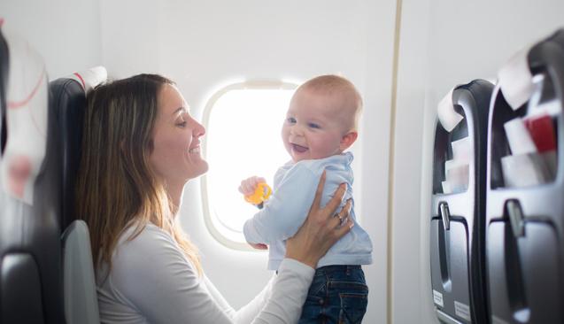 Bebekle rahat seyahatin püf noktaları
