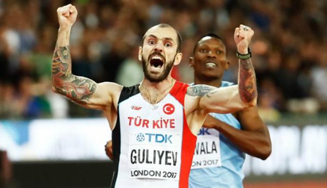 Milli atlet Ramil Guliyev Dünya Şampiyonu oldu