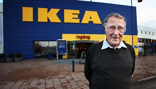 Ikea'nın Sahibi Ingvar Kamprad'ın Başarı Hikayesi