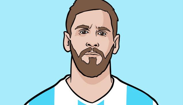 Lionel Messi'nin Para Karakteri
