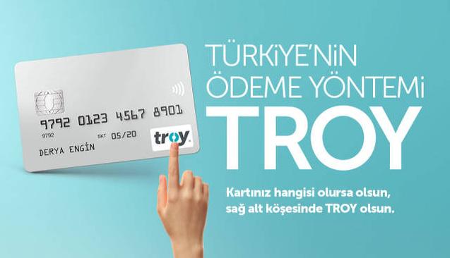 Türkiye'nin Ödeme Sistemi TROY: 2018'de 8 Kat Büyüdü