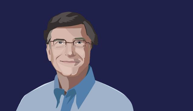 Dünyanın En Zengin İsimlerinden Bill Gates'in Para Karakteri