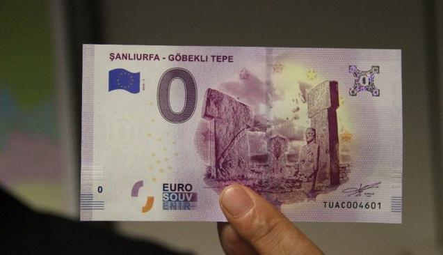 Göbeklitepe'nin Tanıtımı İçin Hatıra Euro Basıldı