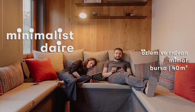 Minimalist Yaşamın En İyi Örneklerinden: Bursa'daki 40 Metrekarelik Ev