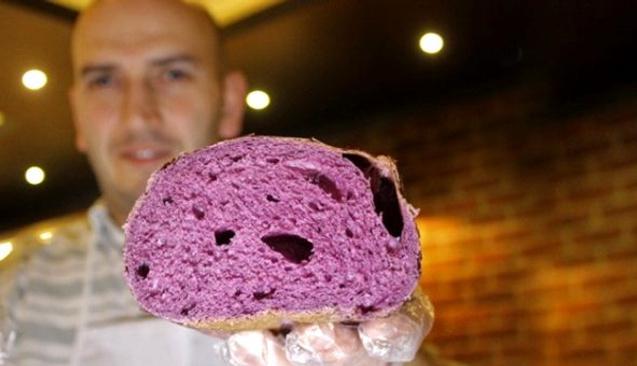 Hiç Mor Ekmek Olur Mu Demeyin... Tanesi 10 Liradan Satılıyor