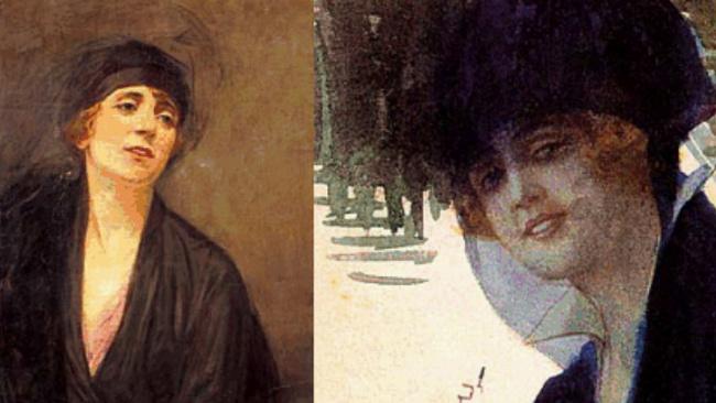 Türkiye'de çağdaş resim çalışmalarını ilk başlatan kadın