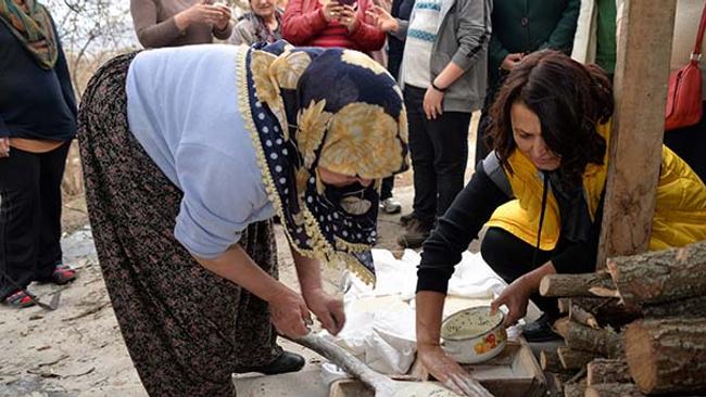 Kadın girişimcinin başlattığı şehir hayatından kaçanlara ilaç olacak turizm projesi