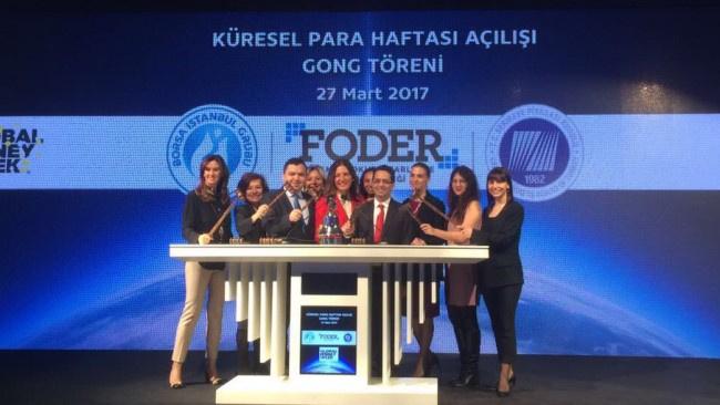 Küresel Para Haftası Borsa İstanbul'da Gong Töreni ile başladı