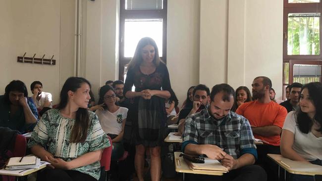 Özlem Denizmen, Boğaziçi Üniversitesi öğrencilerine hedef belirlemenin başarıdaki rolünü anlattı