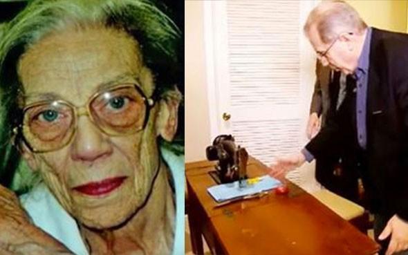 Halasının dikiş makinesinde bulduğu şey ile hayatı değişti!