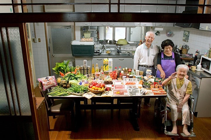 Türkiye dahil 20 ülkeden ailelerin 1 haftalık mutfak masrafları!